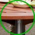 リクライニングチェア テーブルセット
