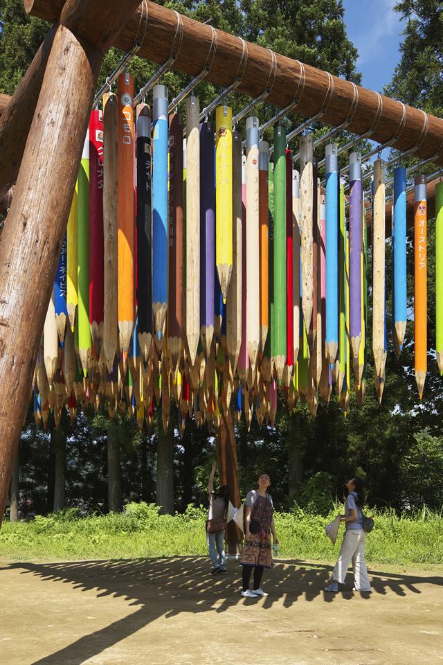 『リバース・シティ』 パスカル・マルティン・タイユー 大地の芸術祭 越後妻有トリエンナーレ2009
