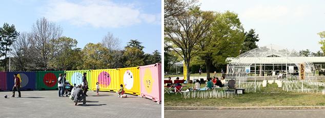 公園meetsお祭り
